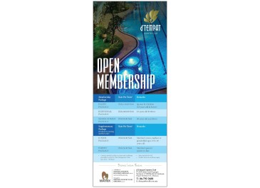Open Membership Promotion
