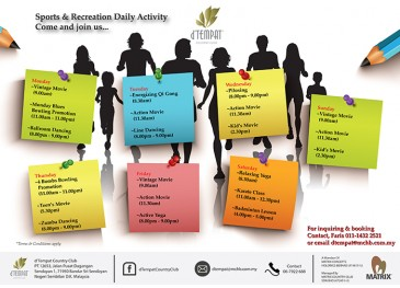 Sports & Recreation Daily Activity