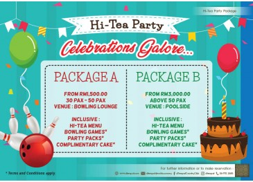 Hi-Tea Party Package
