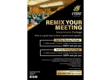 Remix Your Meeting - Government Package