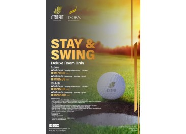 Stay & Swing - Deluxe Room Only