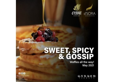 Garden Terrace May Promotion For Food