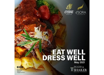 Jigger & Shaker May Promotion For Food