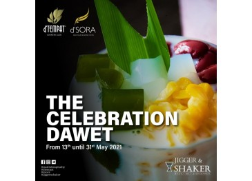 Jigger & Shaker May Promotion For Beverage
