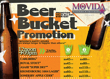 MOVIDA Beer Bucket Promotion