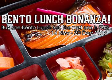 Haruta - Bento Lunch Bonanza!