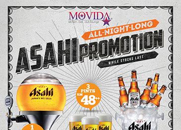 Movida Asahi Promo