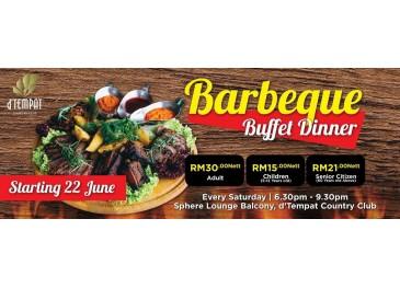 Barbeque Buffet Dinner